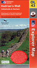 Map OL43: Hadrians Wall. Haltwhistle & Hexham