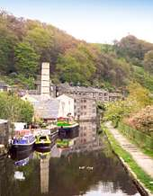 Hebden Bridge on the Pennine Way